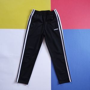 2019 Junior Adidas Black & White Striped Pants